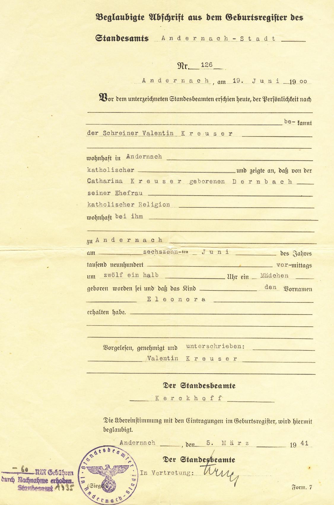 unterschreiben in vertretung